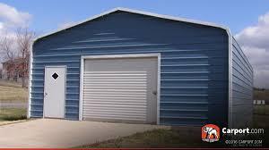 Single Car Metal Garage 22' x 31' | Shop Metal Buildings Online!