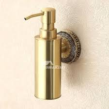 wall dispensers pictures show brass soap dispenser polished carved mounted leaflet wall dispensers mounted dispenser shower soap