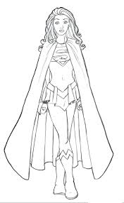 Female Superhero Coloring Pages Female Superhero Coloring Pages Colouring Superbay Info