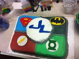 Superhero Cake Design Homemade Justice League Cake Superhero Birthday Party