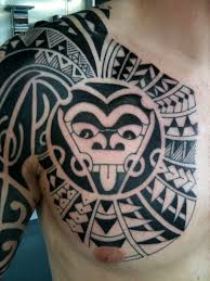 Irish Street Tattoo The Rock Style Freehand Polynesian Chest