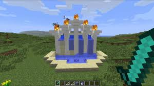 Minecraft Water Fountain Designs Minecraft Lets Build Automatic Water Fountain Youtube