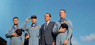 Image result for The mission, manned by Frank Borman, James Lovell, Jr., and William Anders