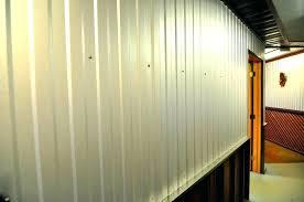 corrugated steel wall depot siding elegant interior metal panels home galvanized panel details cor