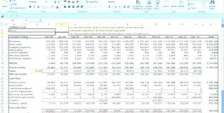 Startup Business Plan Template Financials Excel Financial Purly Co