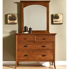 modern shaker furniture. cresent fine furniture classics modern shaker fourdrawer small media dresser u0026 mirror