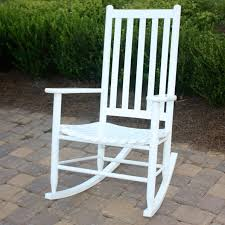 Outdoor Decor Company Dixie Seating Company Outdoor Indoor Georgetown Slat Rocking Chair