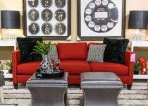 Small Picture Red Home Decor Colorful Home Decor Ideas For Living Room With Red