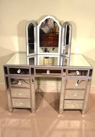 Regent antiques offers this mirrored dressing table with mirror in the Art  Deco style with triple mirror. This dressing table will add to your  collection.
