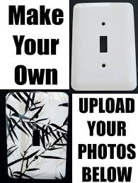 Make Your Own Light Switch Covers