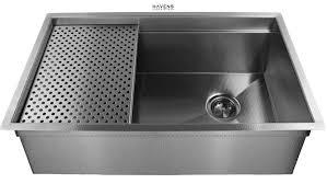 havens metal s high end stainless steel sinks using high end metal