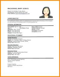 Filipino Nurse Resume Sample A Free Registered Nurse Resume Template