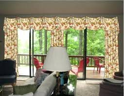 valances for sliding glass doors s leadg choosg wood valance pictures