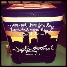 how to make the perfect fraternity formal cooler in 5 steps