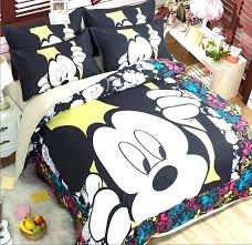 mickey mouse twin comforter bedding set popular sets sheets size bed