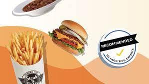 at steak n shake healthy menu choices