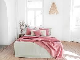 durable linen blanket queen size king