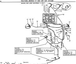 a wiring diagram yesterday s tractors checked the john deere parts catalog pc675 topic wiring and lamp equipment a only on page 44