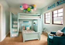 Bedroom Bunk Bed With Staircase Drawers Bunk Bed With Storage