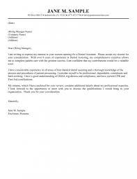 new grad nurse cover letter example   Sample Cover Letter Nursing
