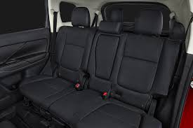 when it comes to carrying cargo the 2017 mitsubishi outlander doesn t disappoint there is 10 3 cubic feet of cargo room behind the third row of seats
