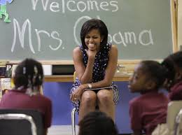 First Woman Cabinet Member Michelle Obama Birthday Photos Business Insider