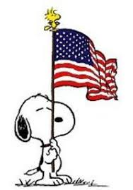 Image result for peanuts patriotic