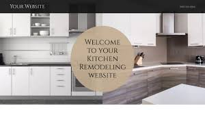 Kitchen Remodeling Templates Kitchen Remodeling Website Templates Godaddy