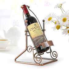 standing wine opener. Vintage Standing Wine Opener Retro Rack Suspension Stand Novelty Iron Bottle