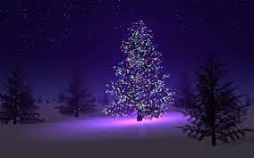 Christmas Tree Snow Wallpapers - Top ...