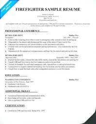 Firefighter Job Description For Resume Firefighter Job Description ...