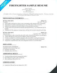 Firefighter Job Description For Resume Firefighter Job Description ...
