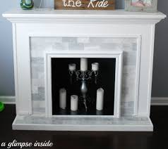 faux fireplace how to make a home garden project home diy on cut out keep