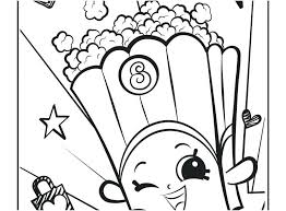 Shopkins Printable Coloring Pages Turn Photo Into Coloring Page