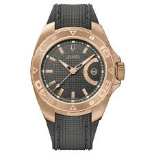 bulova rose gold watches best watchess 2017 bulova accutron men s curacao rose gold plated watch