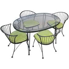wrought iron garden furniture. vintage u0027pinecrestu0027 wrought iron dining set by woodard patio furniture garden