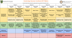 international business research topics department of marketing and  international business management cambridge summer institute disclaimer changes to the course description topics programme structure and