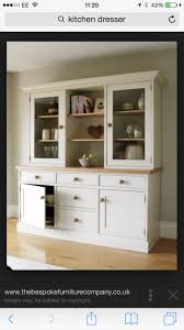 Triple Kitchen Dresser made from Solid Oak. Kitchen Cabinetry Handcrafted  by The Bespoke Furniture Company