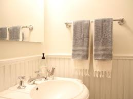 How To Install A Bathroom Towel Bar Howtos DIY - Bathroom towel bar height