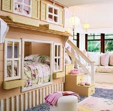 Bedroom:Unique Kids Bunk Beds Peach Bedroom Decorating Ideas Children Room  Agreeable Blue And Pictures