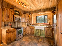 stone tile kitchen countertops. Appealing Image Of Rustic Cabin Kitchens Decoration Using Travertine Stone Tile Kitchen Countertops