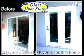 french door replacement hardware replaces small sliding glass to patio doors fiberglass front gliding anderson andersen
