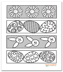 Also find more printables to color and coloring pages. Free Printable Easter Coloring Bookmarks I Should Be Mopping The Floor