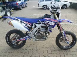 2014 yamaha wr450f motard r 75 000 for sale in durban bike trader
