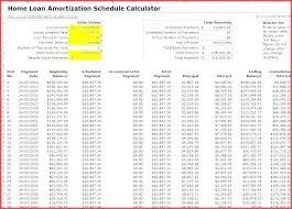 Amortization Calculator Spreadsheet Home Loan Excel Hdfc Schedule