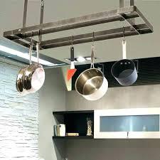 wooden pot rack ceiling mounted pot rack decoration island with pot rack kitchen ceiling pan rack