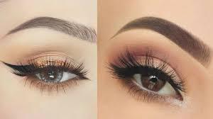 simple easy neutral smokey eye makeup tutorial