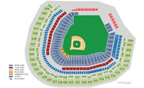 Seattle Mariners Safeco Field Seat Layout Sports