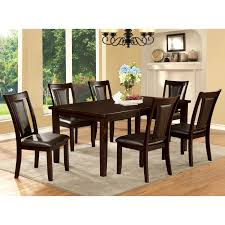 furniture of america dining sets. Furniture Of America Rolen 7-piece Dark Cherry Dining Set - Free Shipping Today Overstock 17092589 Sets O