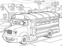 Small Picture School Bus Coloring Page For Kids Transportation Coloring pages